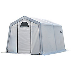 GrowIt Greenhouse-In-A-Box 10 ft. x 10 ft. x 8 ft. Easy Flow Peak-Style Greenhouse