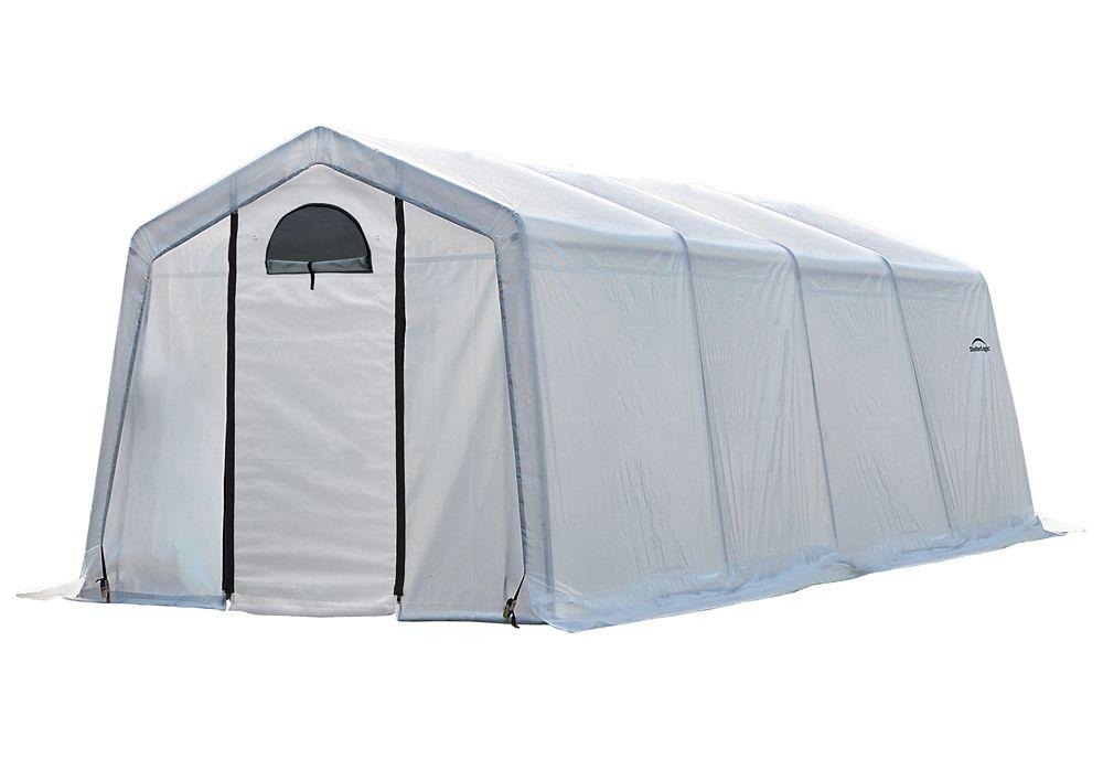 GrowIt Greenhouse-In-A-Box Easy Flow Greenhouse Peak-Style 10  Feet  x 20  Feet  x 8  Feet