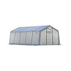 GrowIt 12 ft. x 20 ft. x 8 ft. Pro Peak-Style Greenhouse-In-A-Box
