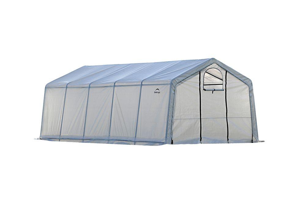 GrowIt Greenhouse-In-A-Box Pro Peak-Style 12  Feet  x 20  Feet  x 8  Feet