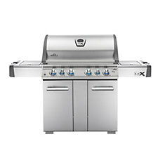 LEX 605 Propane BBQ with Side-Burner and Infrared Bottom & Rear-Burners