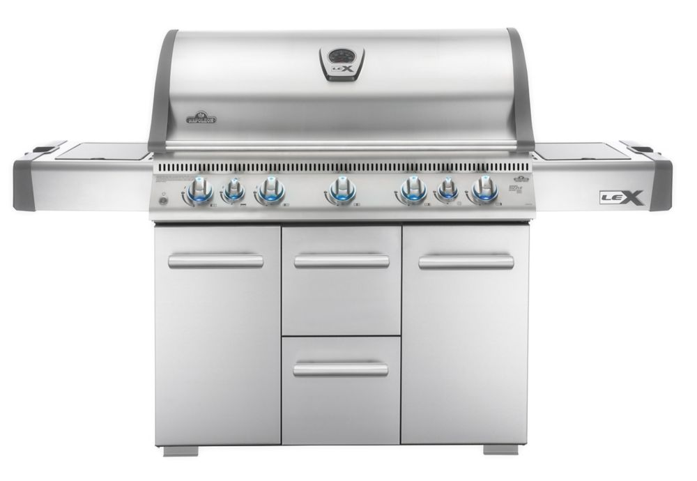 LEX 730 with Side Burner and Infrared Bottom & Rear Burners