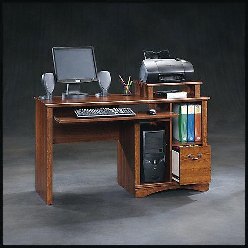 Camden County Computer Desk in Planked Cherry