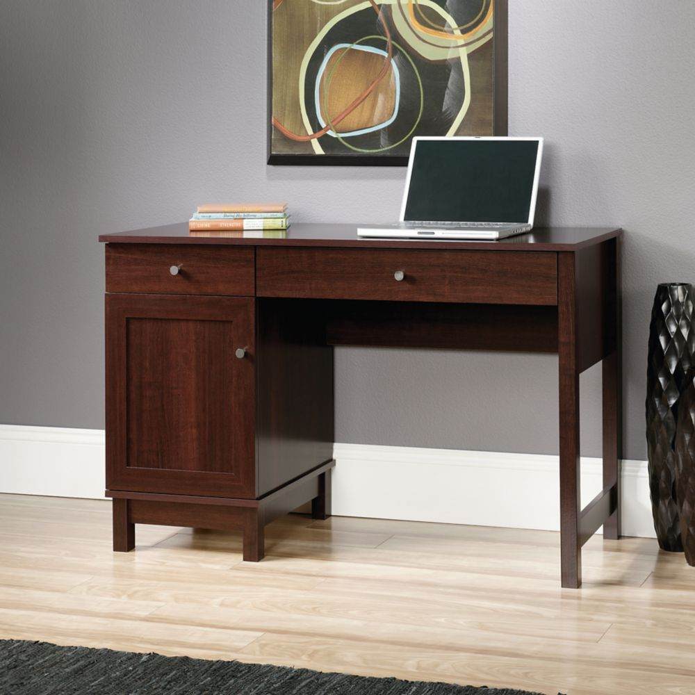 Sauder Kendall Square Desk in Select Cherry Finish