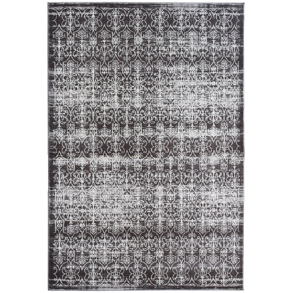 Taupe Vestiges 5 Feet x 7 Feet 6 Inches Area Rug
