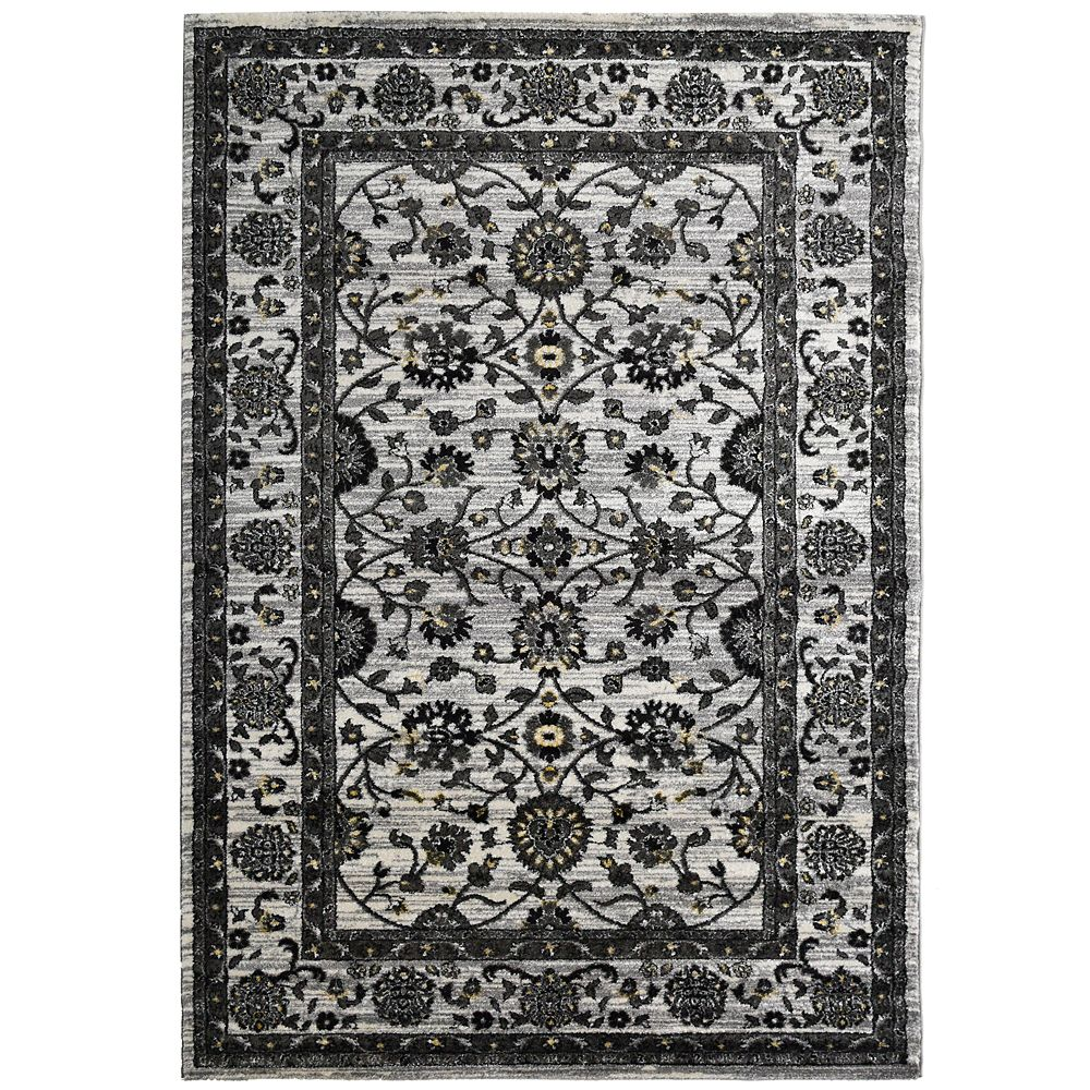 Cream Timeless 8 Feet x 10 Feet Area Rug