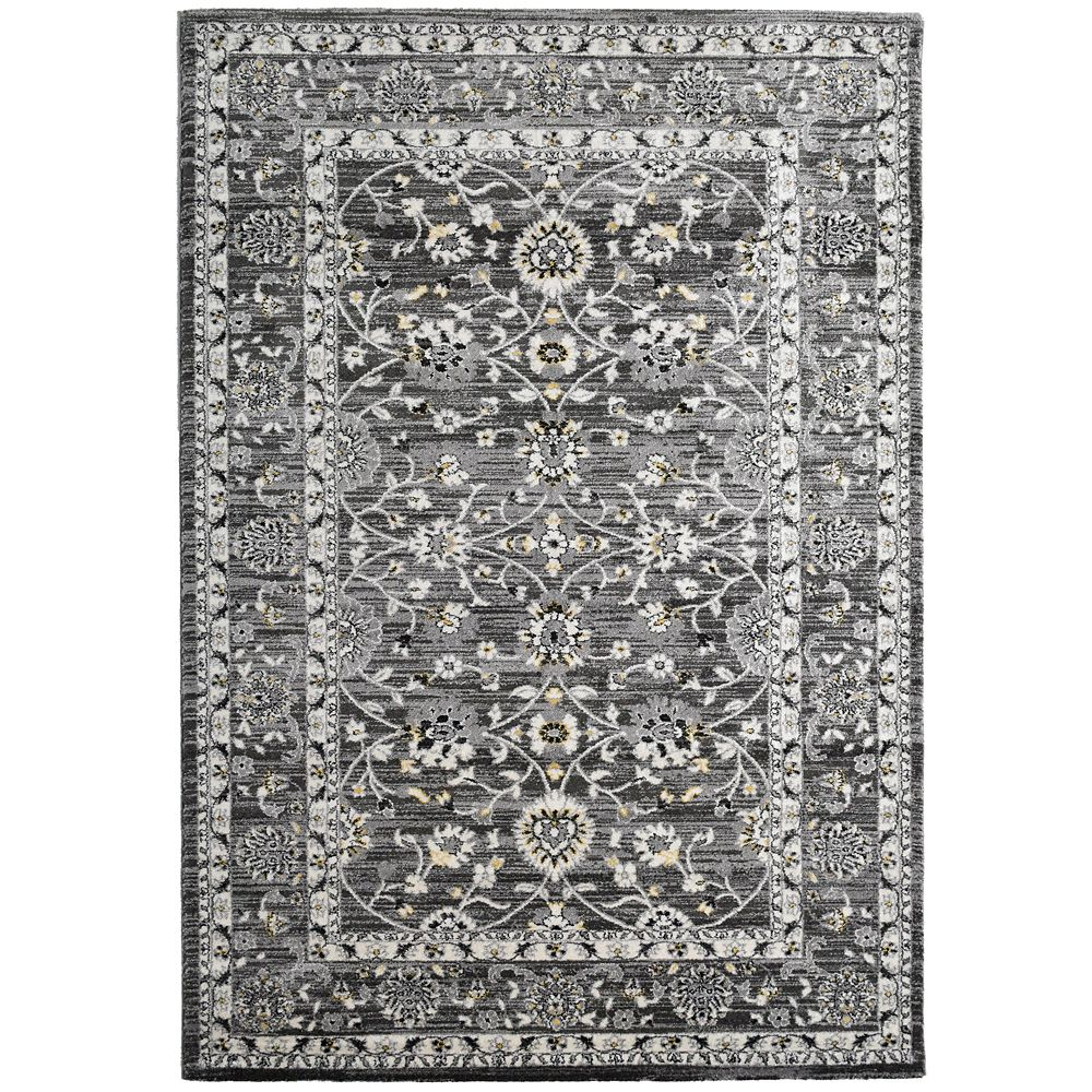 Grey Timeless 8 Feet x 10 Feet Area Rug