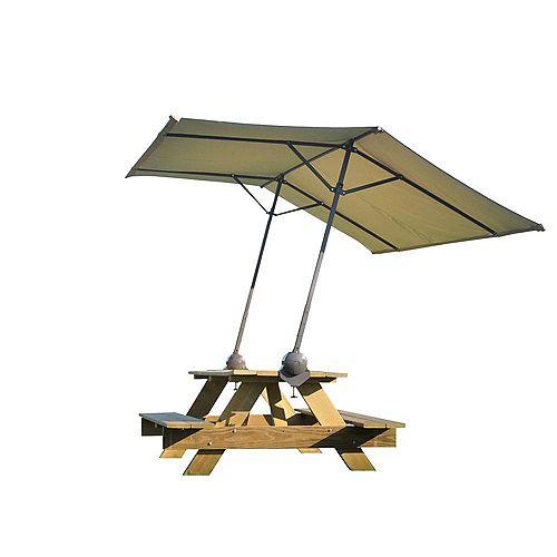 ShelterLogic Parasol de Table Portable