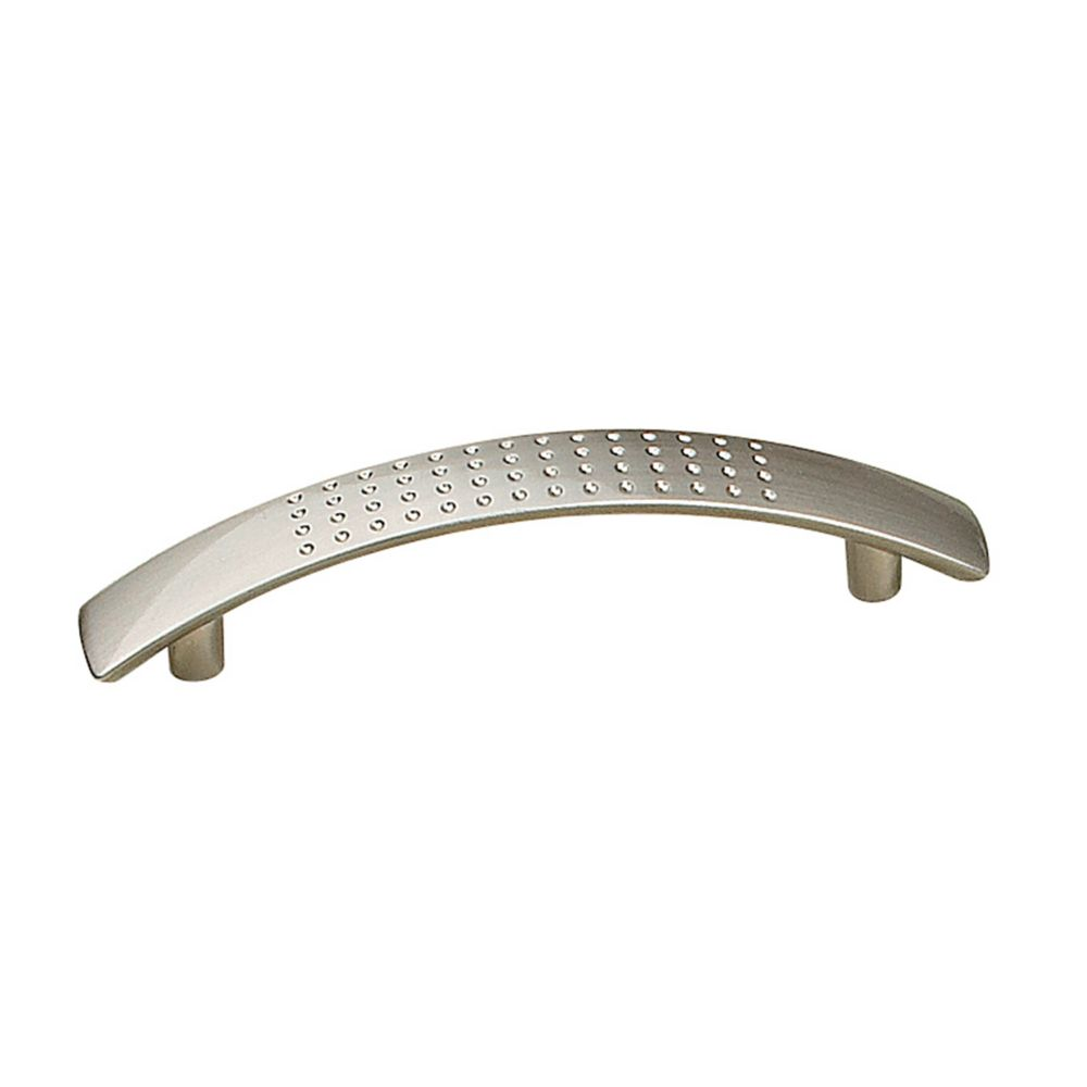 Richelieu Contemporary Metal Pull 3 3/4 in (96 mm) CtoC - Brushed Nickel  - Brockton Collection