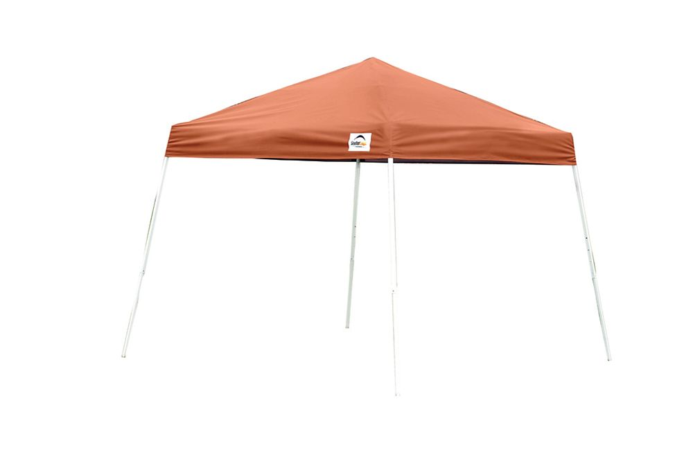 10  Feet  x 10  Feet  Sport Pop-up Canopy Slant Leg Terracotta Cover