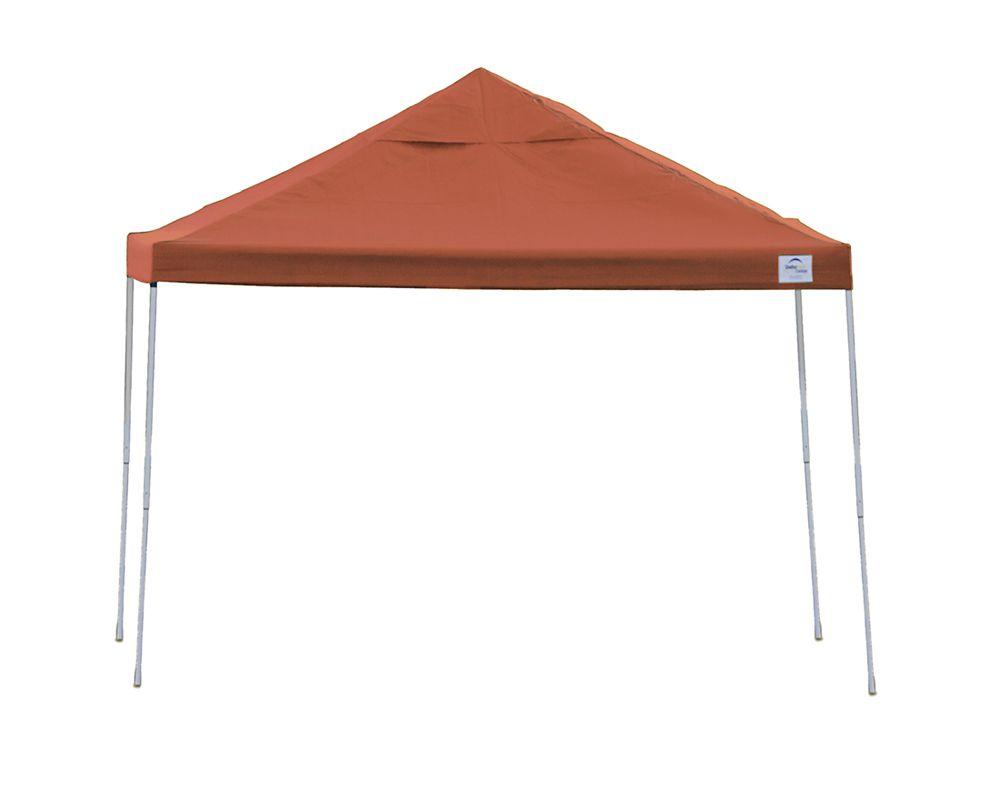 12  Feet  x 12  Feet  Pro Pop-up Canopy Straight Leg Terracotta Cover