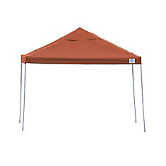 12 ft. x 12 ft. Pro Pop-Up Canopy with Straight Legs & Terracotta Cover