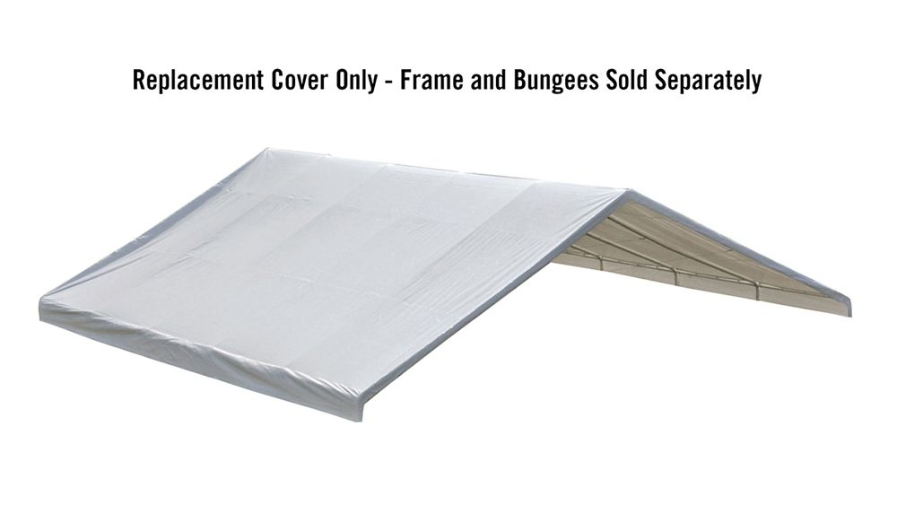 30x30 Canopy White Replacement Cover for 2-3/8 Inch  Frame FR Rated
