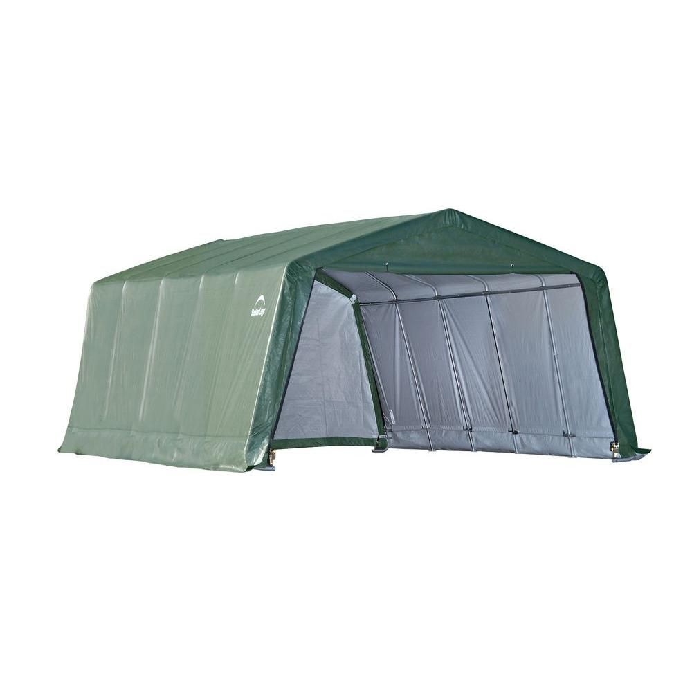 Style rond équin Run-In Shed 3,7 m x 6 m x 2,4 m