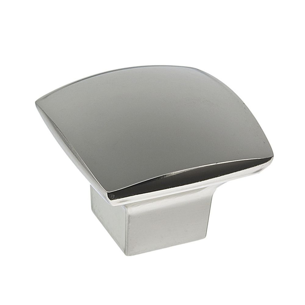 Richelieu Contemporary Metal Knob  Polished Nickel - Weston Collection