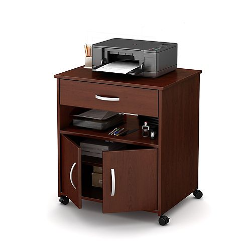 Axess 26-inch x 27.25-inch x 19.75-inch 1-Drawer Manufactured Wood Filing Cabinet