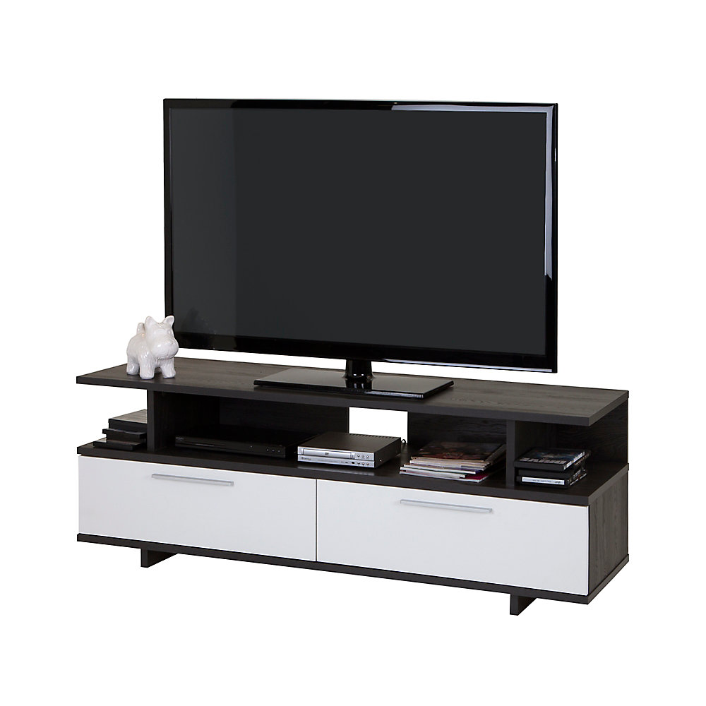Reflekt 59.25-inch x 21.75-inch x 18.25-inch TV Stand in Grey