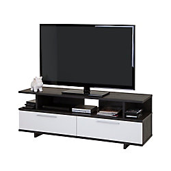 Reflekt 59.25-inch x 21.75-inch x 18.25-inch TV Stand in Grey