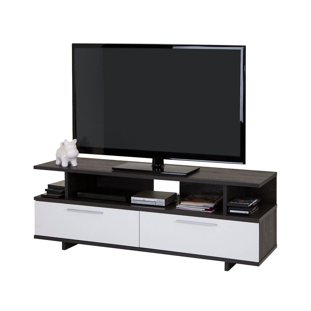 Meuble TV avec tiroirs, TV jusquà 60 pouces, , collection Reflekt