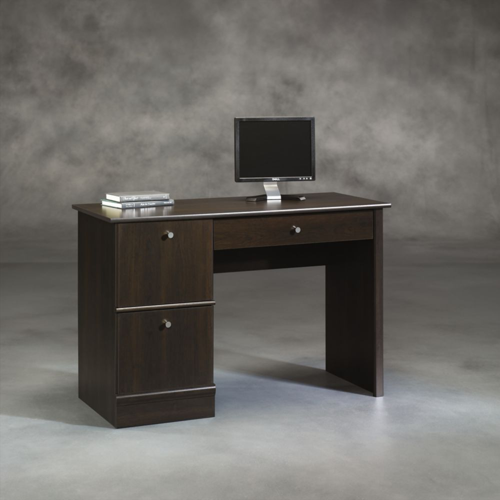 Sauder Computer Desk in Cinnamon Cherry