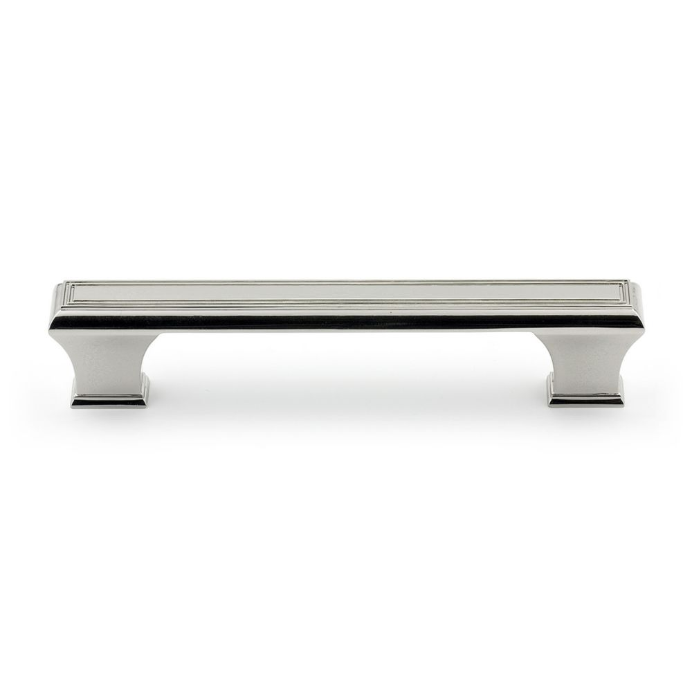 Richelieu Traditional Metal Pull 5 1/32 in (128 mm) CtoC - Polished Nickel  - Beauharnois Collection