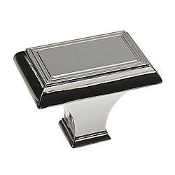 Richelieu Traditional Metal Knob  Polished Nickel - Beauharnois Collection