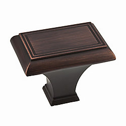 Richelieu Traditional Metal Knob  Brushed Oil-Rubbed Bronze - Beauharnois Collection