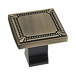 Richelieu Traditional Metal Knob  Antique English - Brossard Collection