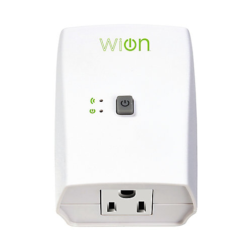 Indoor Wi-Fi Outlet with Wireless Switch and Programmable Timer