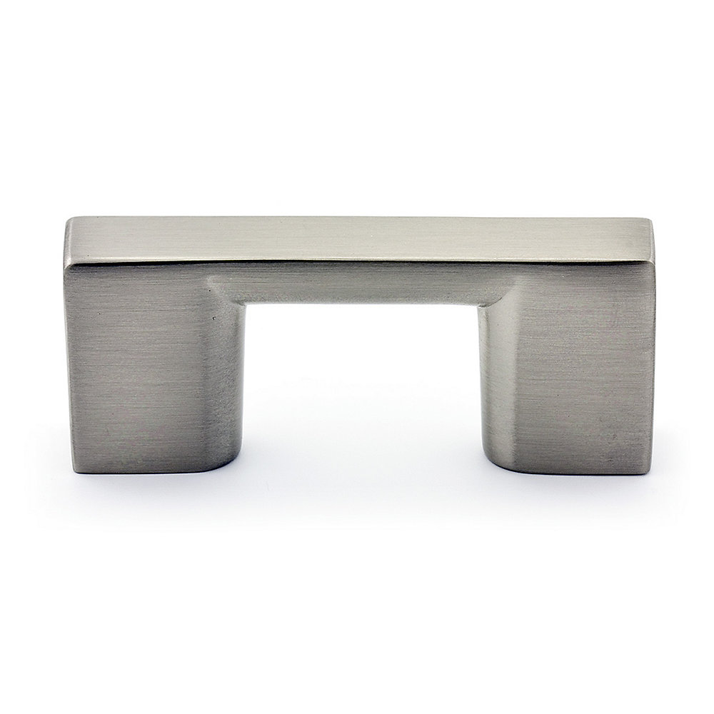 Contemporary Metal Pull 1 1/4 in (32 mm) CtoC - Brushed Nickel  - Armadale Collection
