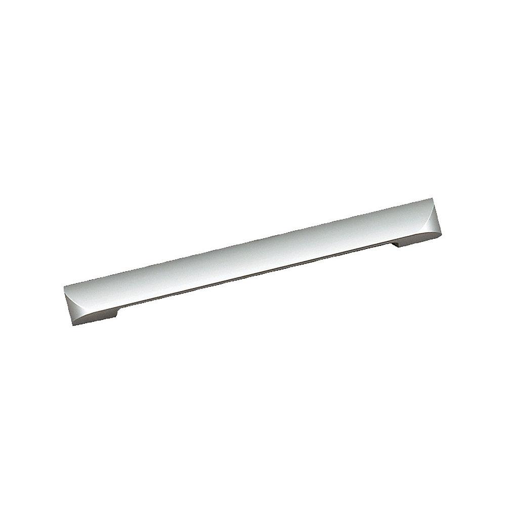 Contemporary Aluminum Pull 6 5/16 in (160 mm) CtoC - Aluminum  - Messina Collection