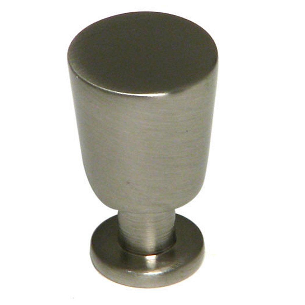 Bouton contemporain en métal 5/8 in (16 mm) Dia - Nickel brossé - McCall Collection