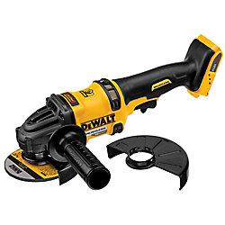 FLEXVOLT 60V MAX Li-Ion Cordless Brushless 4-1/2-inch Angle Grinder with Kickback Brake (Tool-Only)