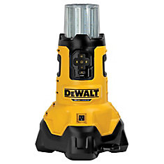 20V MAX Li-Ion Corded/Cordless LED Large Area Jobsite Light w/ Tool Connect and Built-In Charger (Tool-Only)