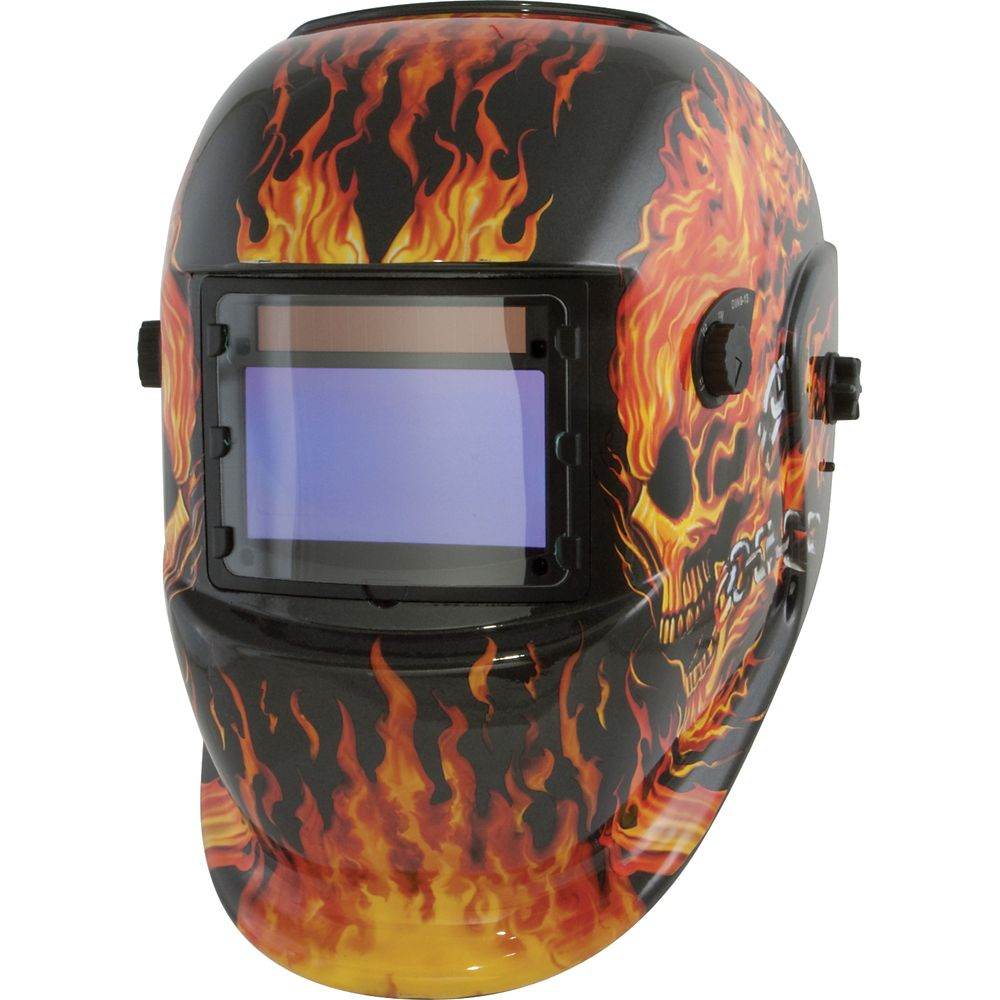 Speedway Solar Powered Auto Darkening Welding Helmet