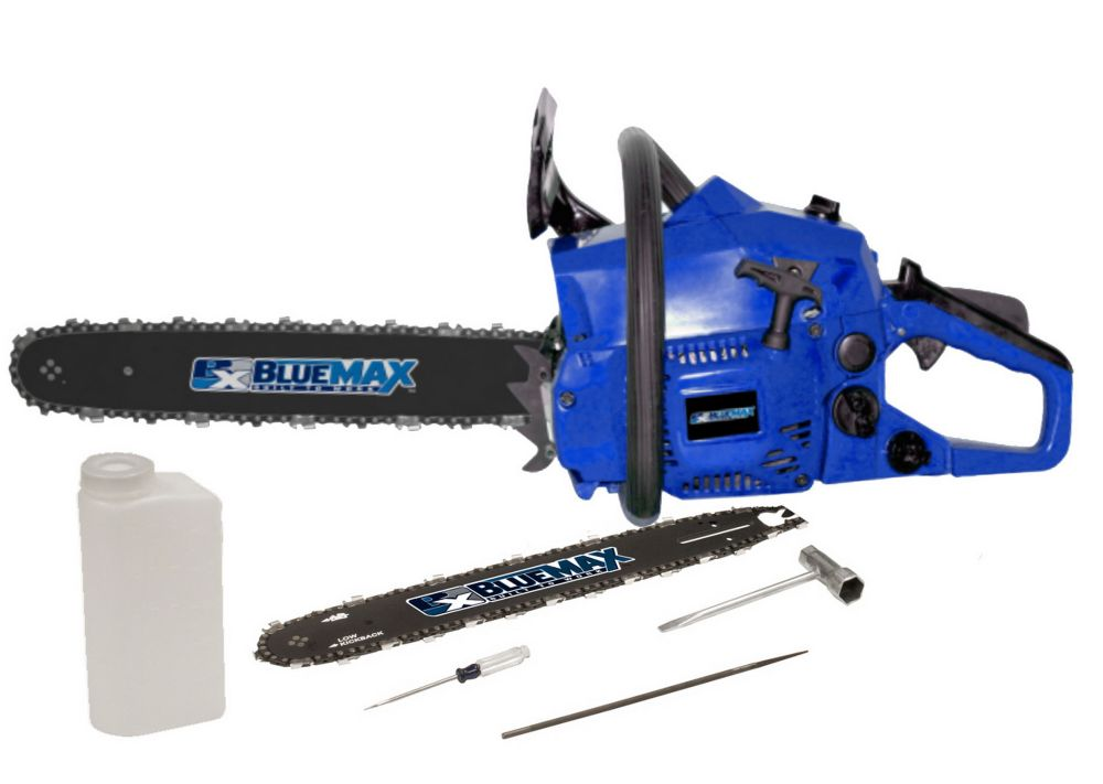 Blue Max 14 Inch & 18 Inch Combo Chainsaw ) 38cc EPA