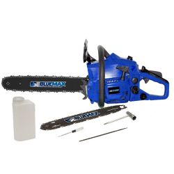 Blue Max 2-in-1 18-inch and 14-inch 38cc High-Performance Gas Chainsaw