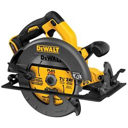 DEWALT FLEXVOLT 60V MAX Lithium-Ion Cordless Brushless 7-1/4-inch Circular Saw (Tool-Only)