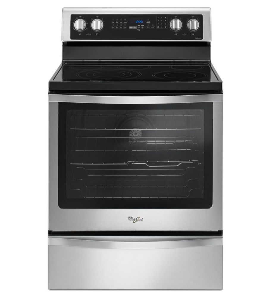 6.4 Cu. Feet. Freestanding Electric Range with True Convection