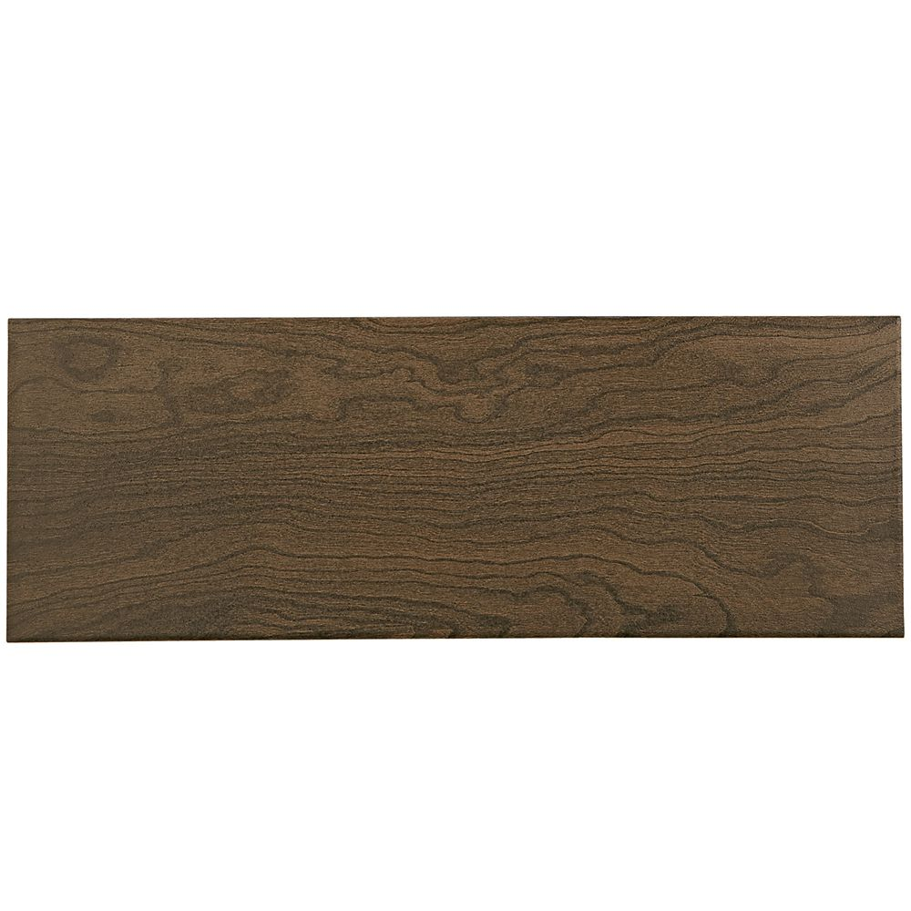 Daltile Parkwood 7-inch x 20-inch Ceramic Floor and Wall Tile in Brown (39 sq. ft./case)