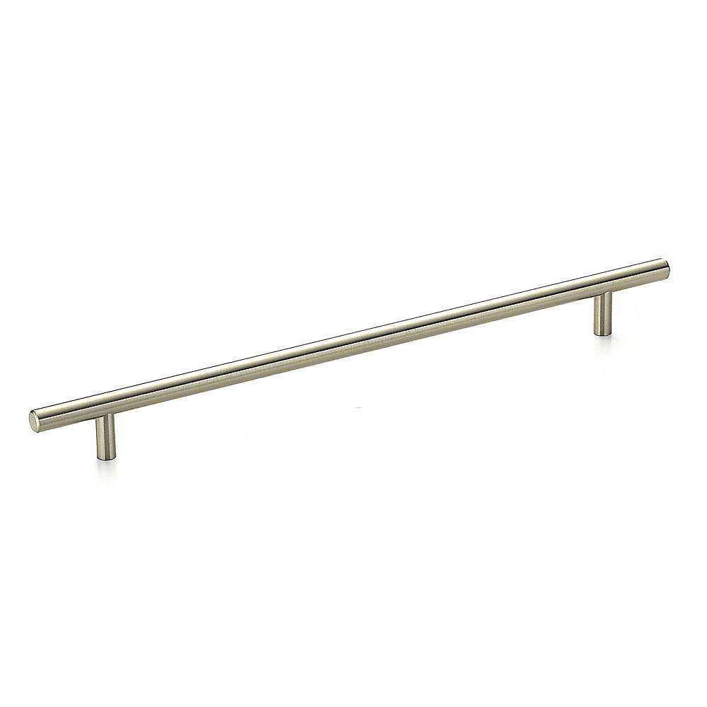 Contemporary Metal Pull 11 3/4 in (298 mm) CtoC - Brushed Nickel  - Washington Collection