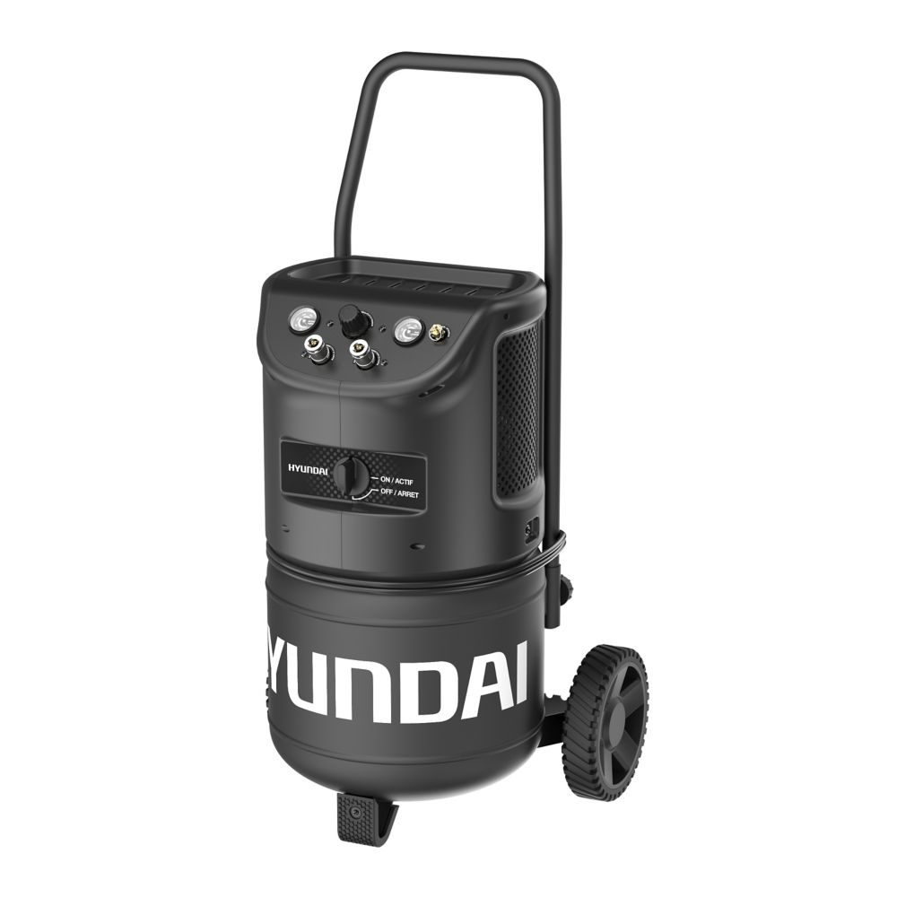 Hyundai HHC8GCC 8 Gallon Ultra-Quiet Portable Electric Air Compressor