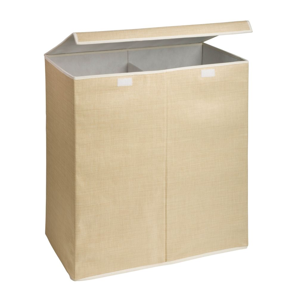 Foldable Double Hamper