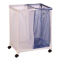 Honey-Can-Do International 2-Bag Mesh Laundry Sorter Hamper