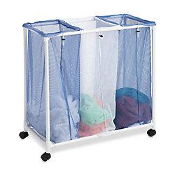 Honey-Can-Do International 3-Bag Mesh Laundry Sorter Hamper