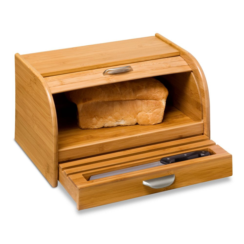 Honey-Can-Do International Bamboo Bread Box