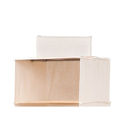 Honey-Can-Do Hanging Organizer in Canvas and Bamboo