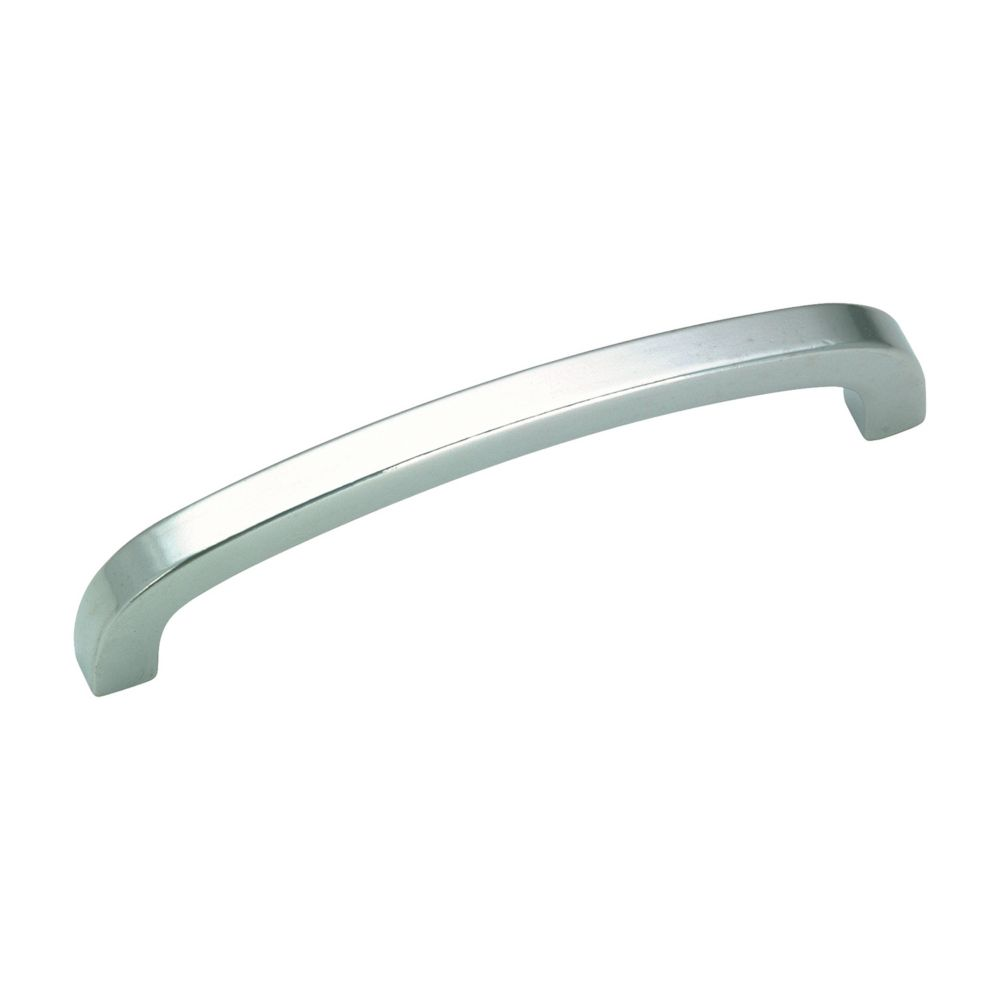 Richelieu Contemporary Metal Pull 3 3/4 in (96 mm) CtoC - Brushed Nickel  - Wadsworth Collection