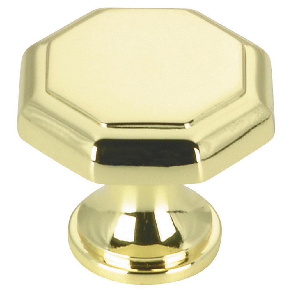 Traditional Metal Knob - Brass - 30 mm Dia.