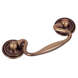 Richelieu Traditional Metal Pull - Antique Copper - 3 in C. To C.